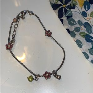 Brighton hearts & flowers anklet fairy